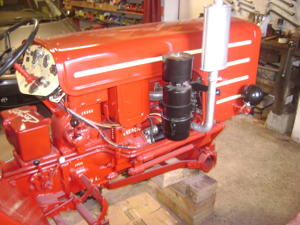 energic - restauration d'un tracteur ENERGIC 519 Dsc05731