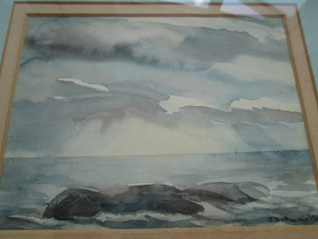 Llandudno Watercolour Painting signed J DUPICSSIS? Img_0513