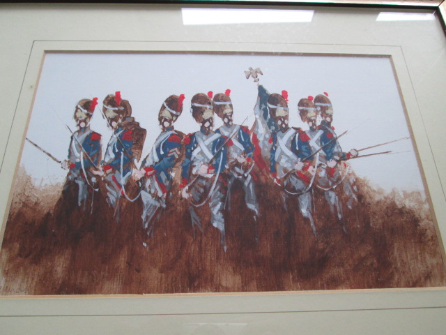 Military Paintings Signed BRANDON? GALLERY 79 BEACONSFIELD Please help ID Img_7616