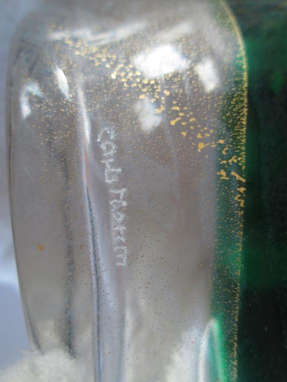 ART GLASS VASE SIGNED CARLS NOHM / RASORM 1998 Img_9014
