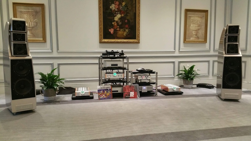 Jornadas Wilson Audio en el Hotel Palace de Madrid 20191010