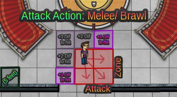 Combat Actions 1melee11