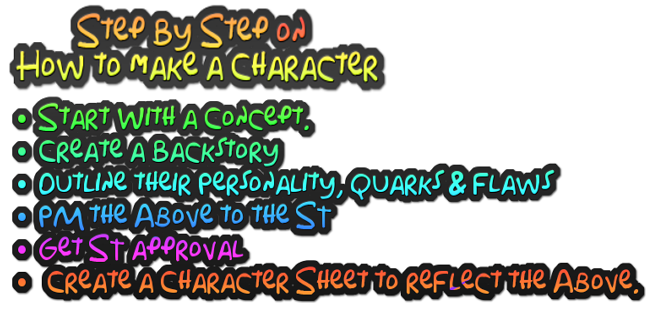READ THIS BEFORE CREATING A CHARACTER SHEET Coolte34