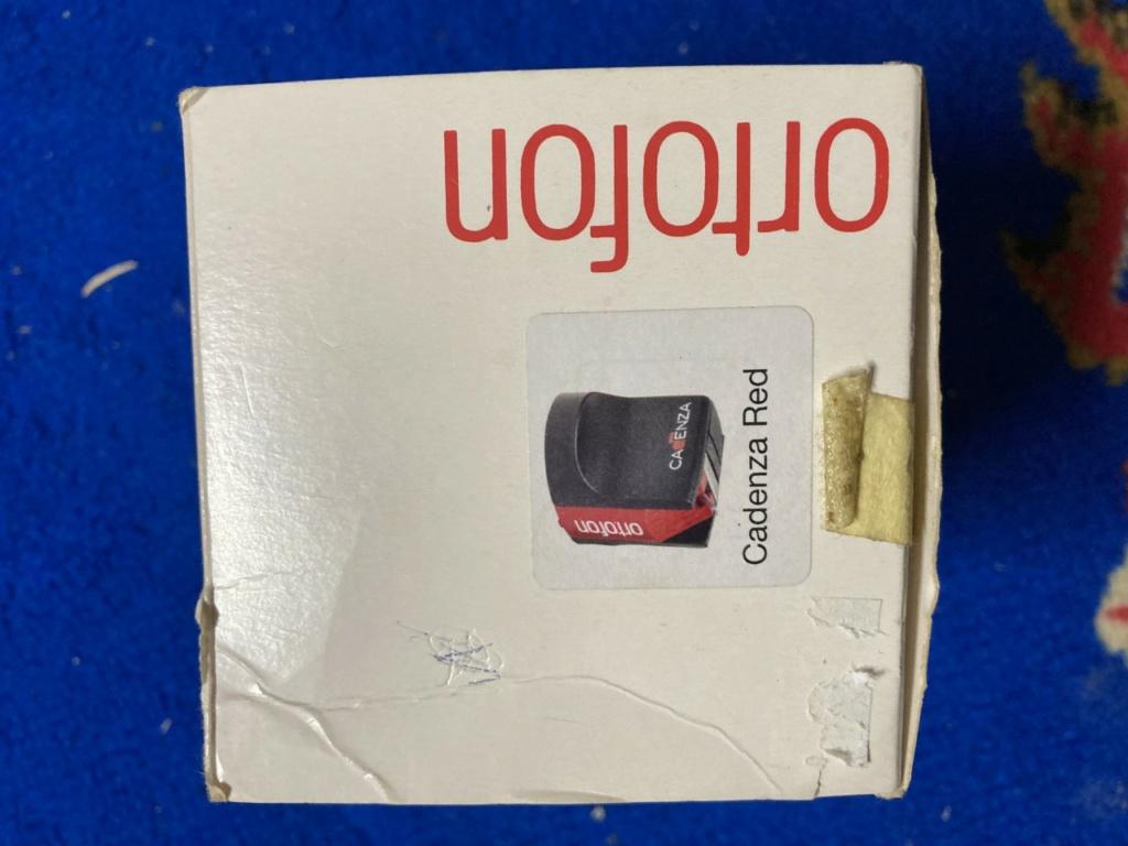 used ortofon cadenza red mc cartridge  Ct210