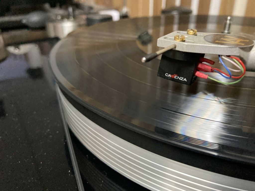 used ortofon cadenza red mc cartridge  Ct_110
