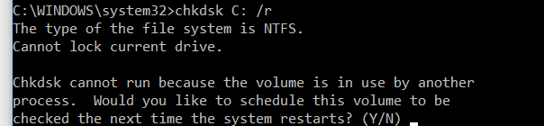 Excruciatingly slow boot time, internet also lagging badly - Page 4 Chkdsk10