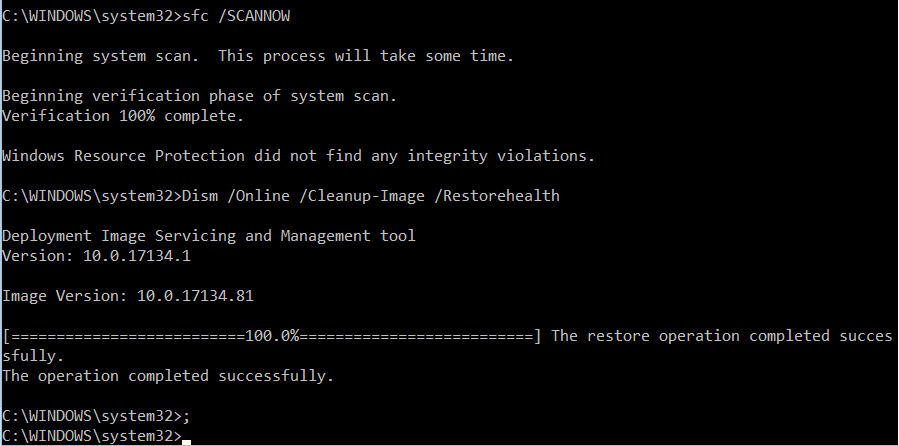Excruciatingly slow boot time, internet also lagging badly - Page 4 Sfcdis10
