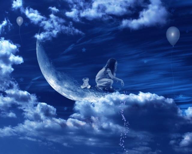 Ce soir je dors... Humeur de nuit en images - Page 2 Lune10