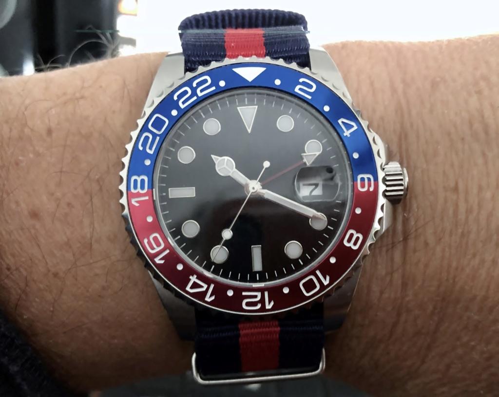 """Ocean - Le club des heureux propriétaires décomplexés de montres """"hommage"""" - tome 2 Pepsi215"""