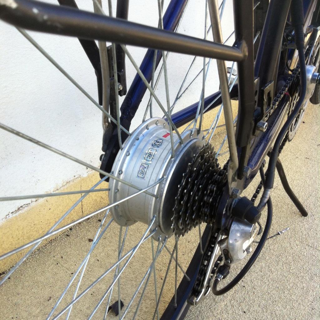 Vendo bici tipo holandesa electrificada en Murcia Image12
