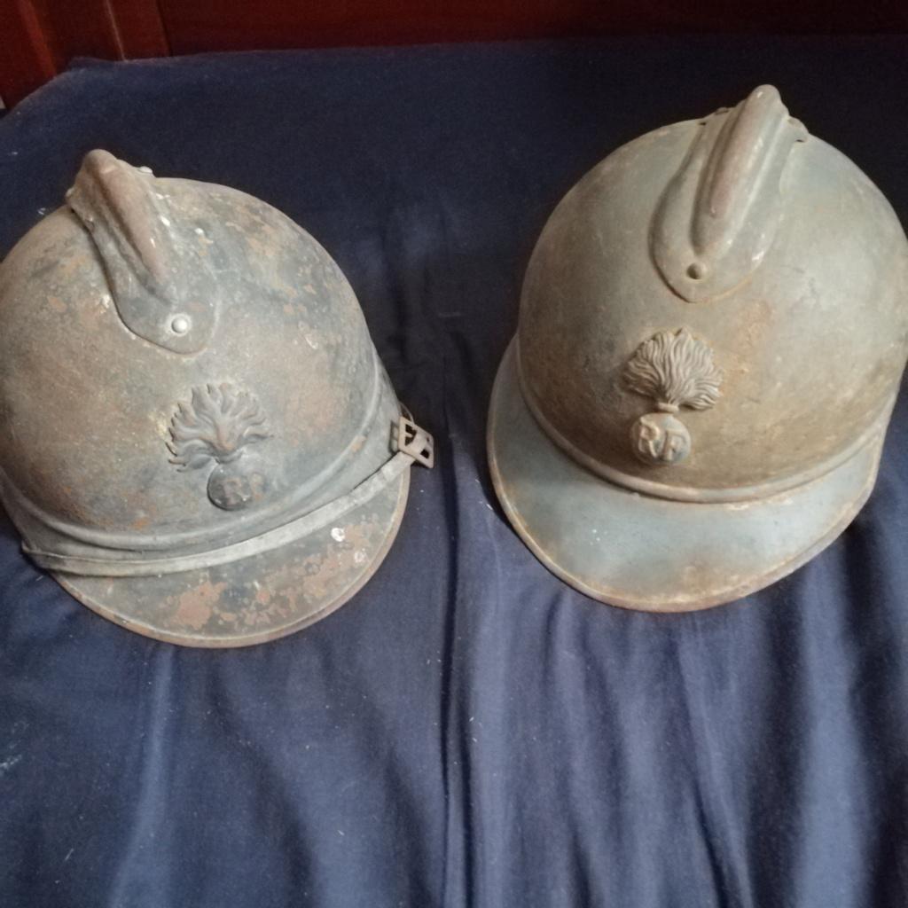 2 casques Adrian + 2 caisses militaire dans les petites annonces  Img_2035