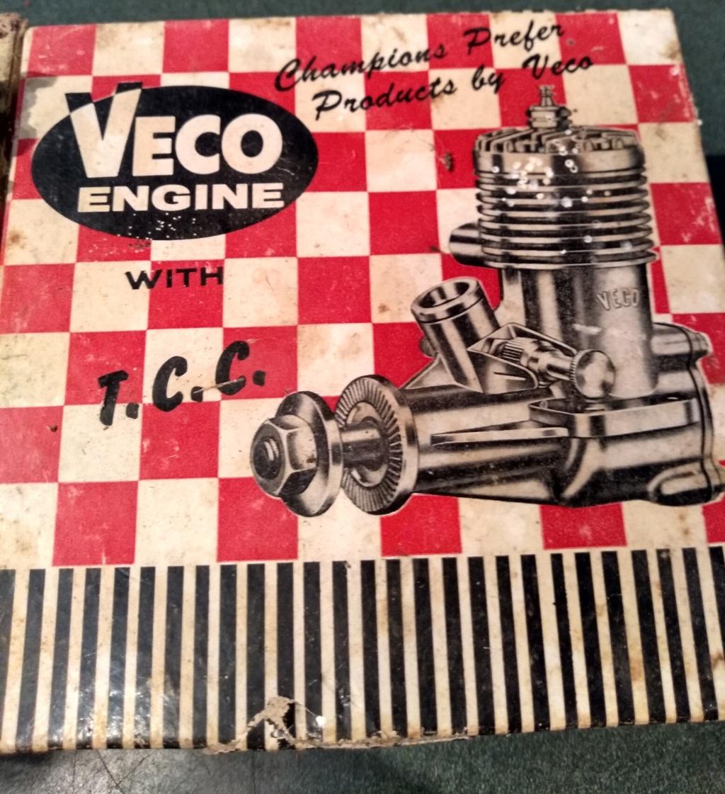 Various Cox Engines In VECO GP -19 Box Veco_b15