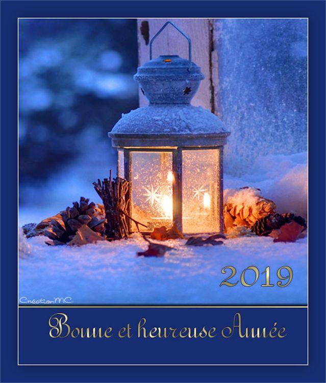 Pour la nouvelle Année 2019 N° 2 Bonne_19