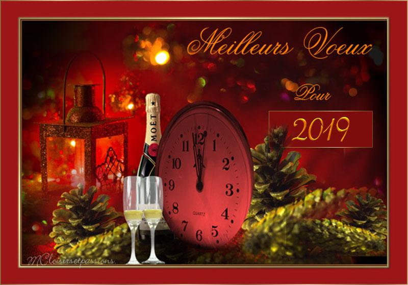 Pour la nouvelle Année 2019 N° 2 Carte_21