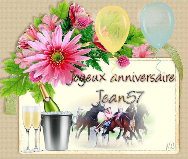 JOYEUX ANNIVERSAIRE JEAN57 Jean5710