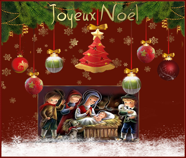 Cartes de Noël N°1 Noellm10