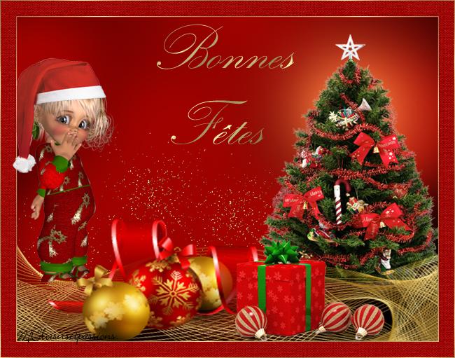 Cartes de Noël N°1 Noellm17