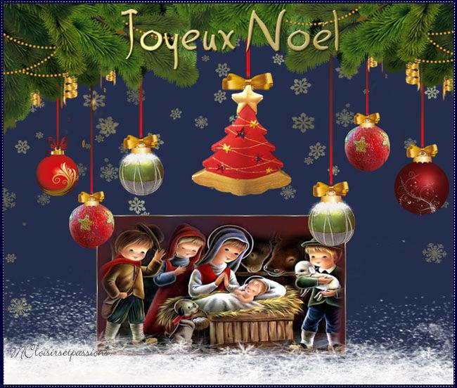 Cartes de Noël N°1 Noellm18