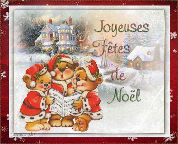 Cartes de Noël N°1 Noellm20