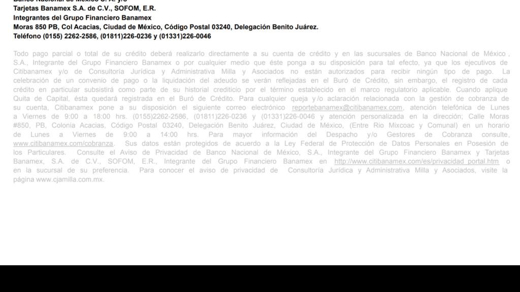 Carta de negociación después de llamada Screen11