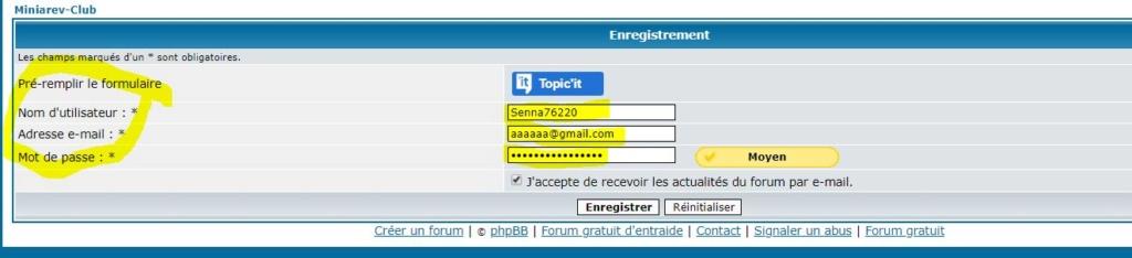 Comment ouvrir un compte et se connecter au forum Bbb410