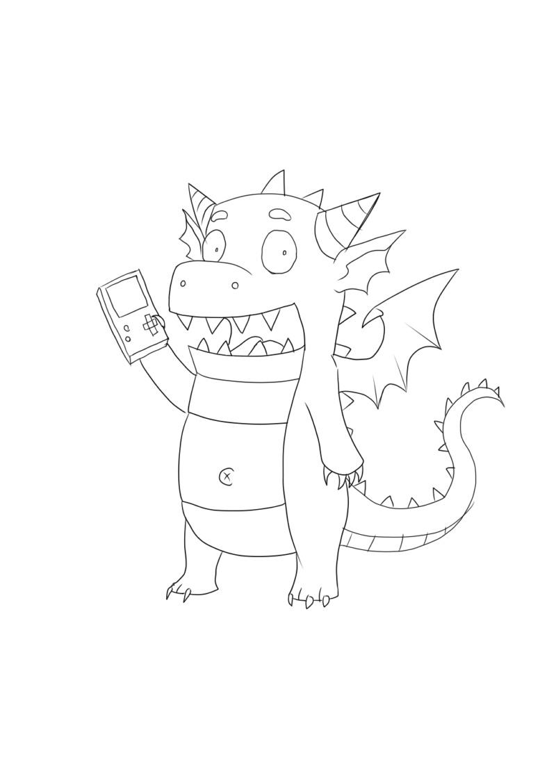 [Terminé] Petit dragon et sa Gameboy Petit-13