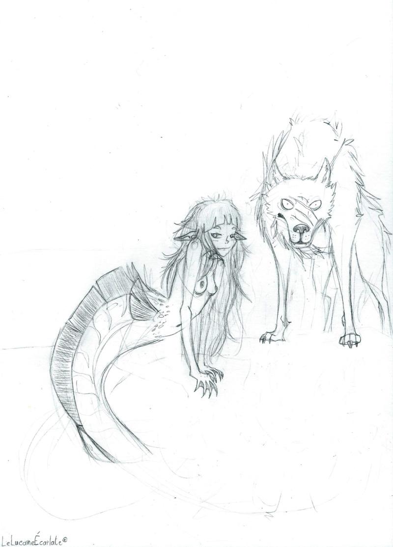 [En cours] Sirène des lacs et meute de loups Sirzon12