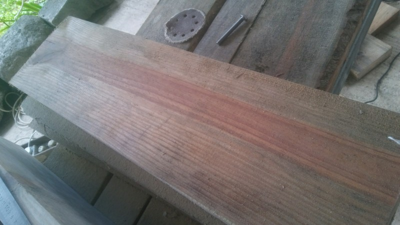 Fabrication d'un meuble pour un bac de 480lt 20190613