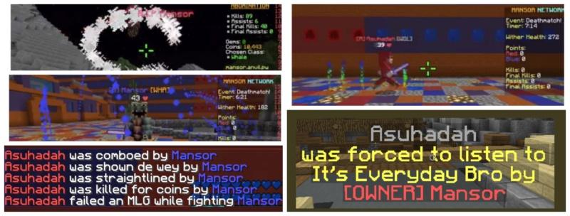Mansor Network Fan Based Not approved by Ninja or Mansor XD - Portal Update12