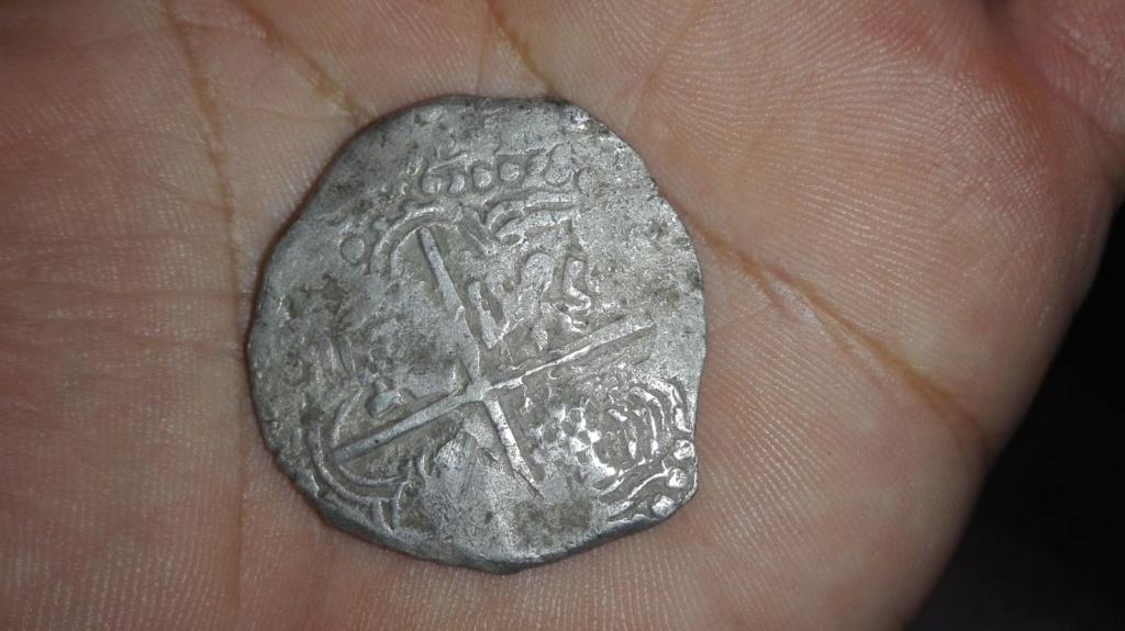 8 reales macuquinos de Felipe IV de Potosí. E003c710
