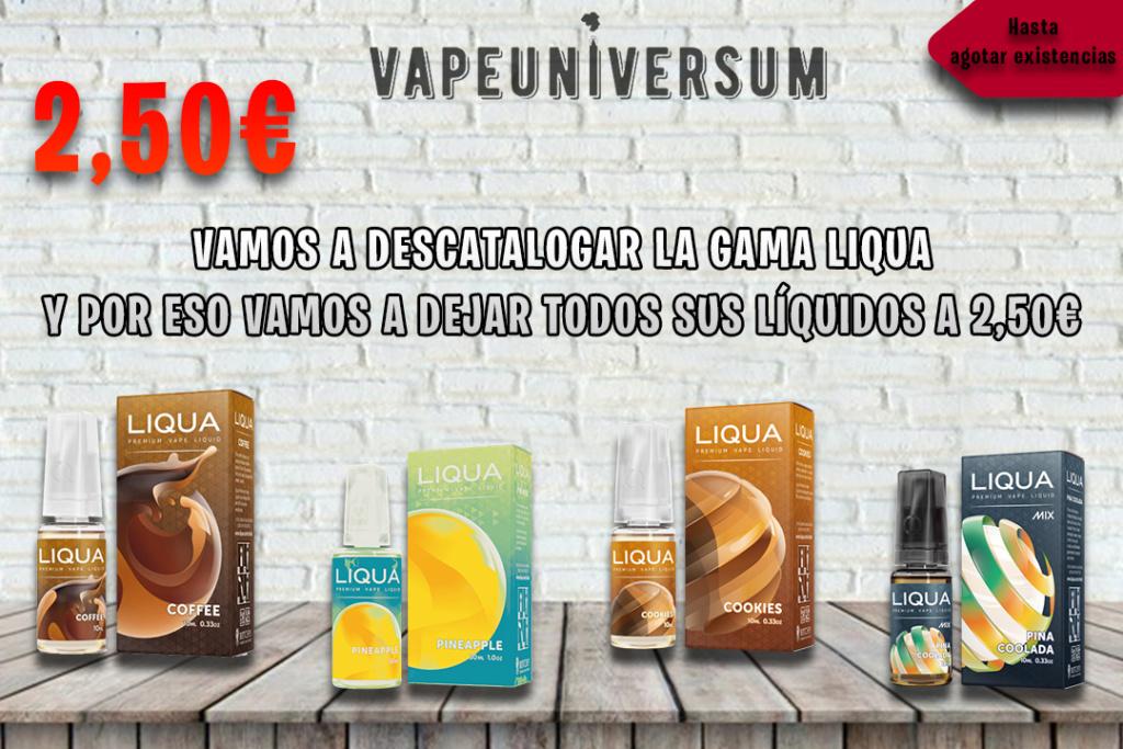 VapeUniversum (OFERTAS, NOVEDADES & DESCUENTOS) Descat10