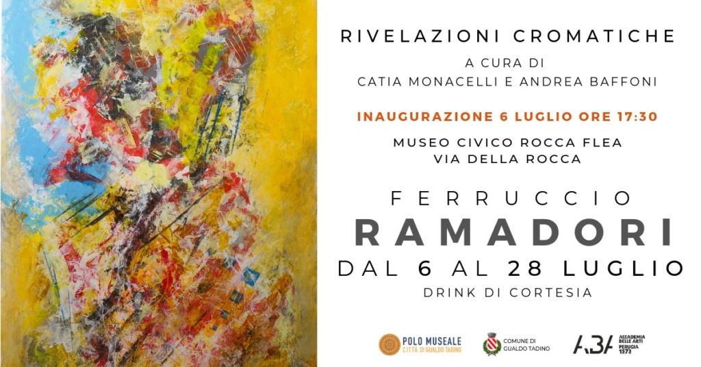 A luglio i colori dirompenti di Ferruccio Ramadori Invito10