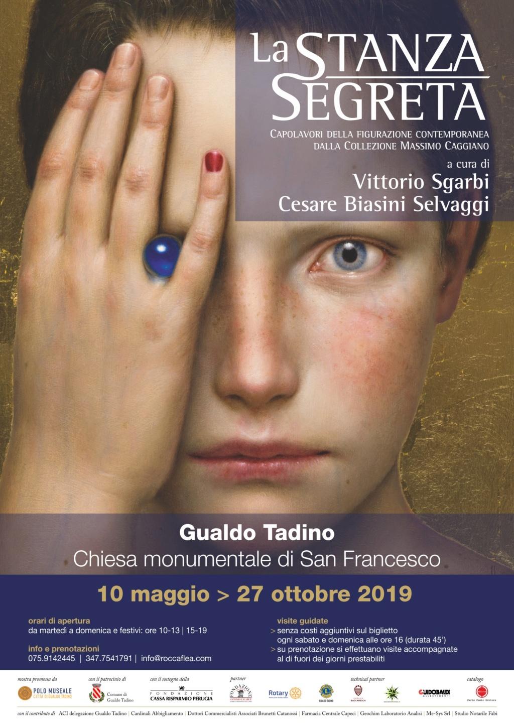 """""""LA STANZA SEGRETA"""", LA MOSTRA CHE RENDE FELICI È A GUALDO TADINO Locand11"""