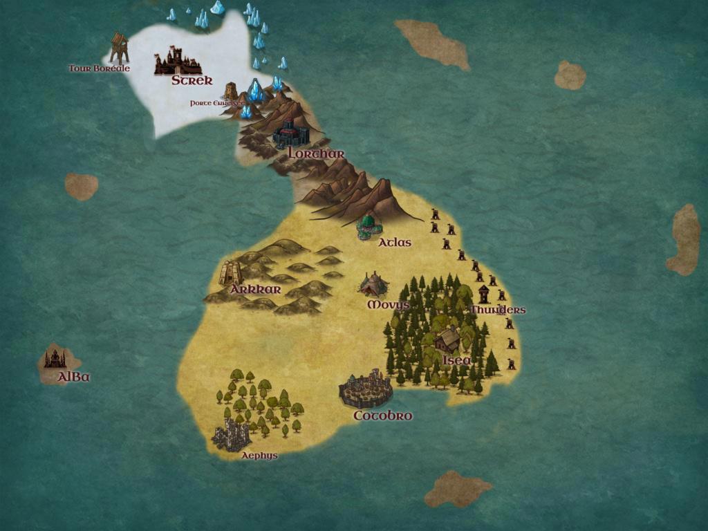 Sterk, la Citadelle aux neiges éternelles Carte_22