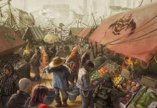 Les Halles aux esclaves Market10