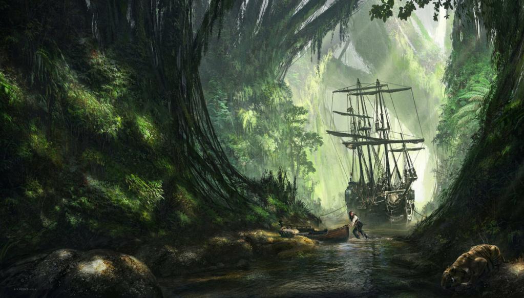 Leorgas Sans-nom — Mercenaire marin Pirate10