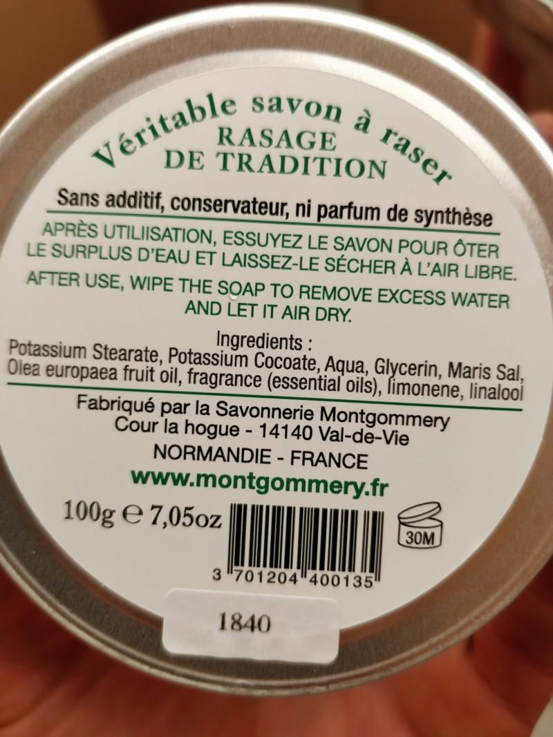 REVUE - Montgommery savon à raser senteur Forêt - Page 2 20190813