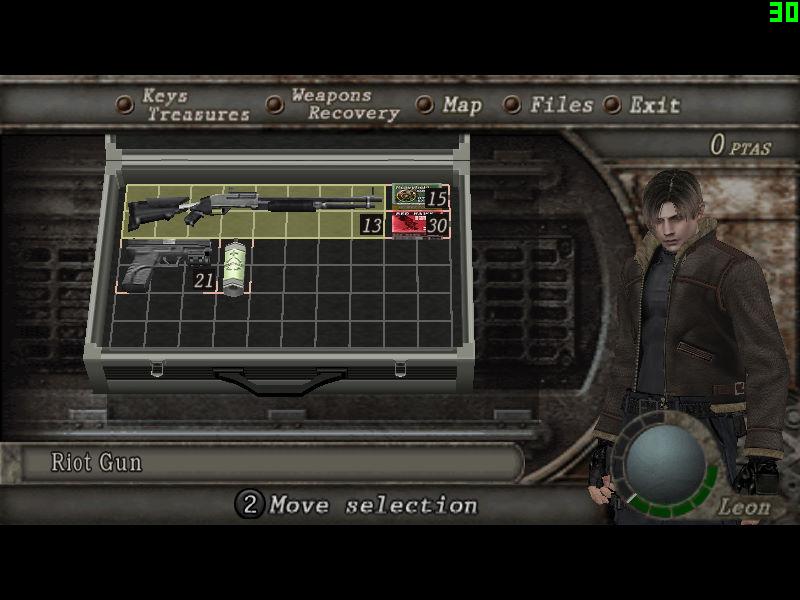 Savedata  NG PRO LEON MERCENARIO (Inventario) Game_220
