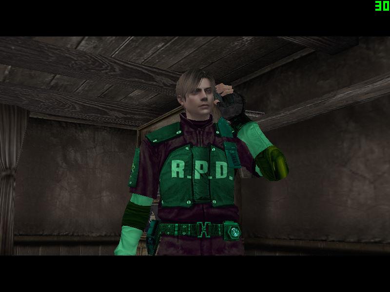 Leon RPD Ultra Green by GGD Leo_ve10