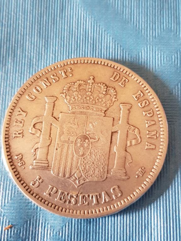 Hola. Haber que opinais sobre esta moneda que tengo. Pienso que es un duro sevillano. Vosotros que opinais. 20191114