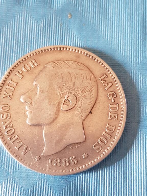 Hola. Haber que opinais sobre esta moneda que tengo. Pienso que es un duro sevillano. Vosotros que opinais. 20191115