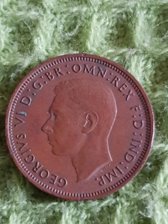 Half penny. Años 1938, 1939 y 1942 para que opineis sobre ellas 20191137