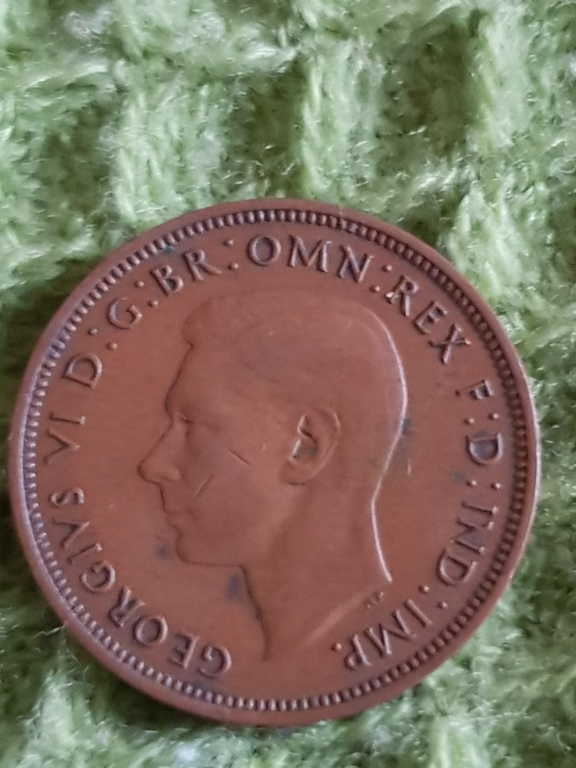 Half penny. Años 1938, 1939 y 1942 para que opineis sobre ellas 20191143