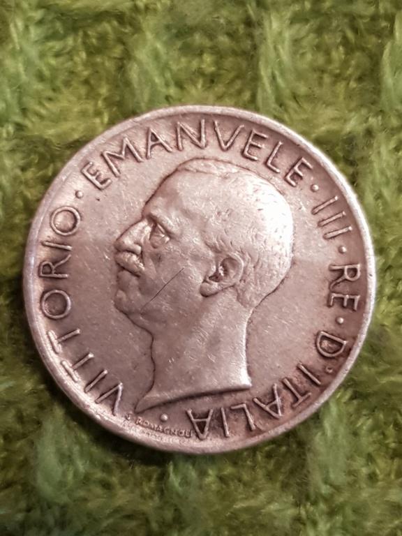 5 liras 1927 R. Italia 20191155