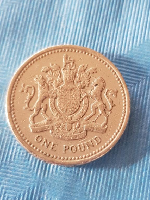 One pound 1983. Reino unido. 20191158