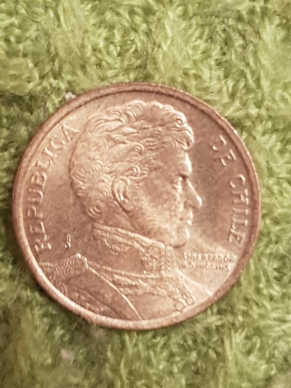 10 pesos Chile.Monedas años 2000 y 2005 20191163