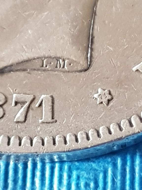 5 pesetas 1871 (*18-71). Amadeo I 20191172
