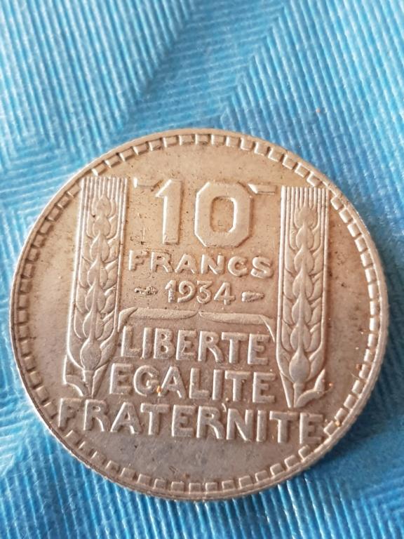 10 Francos 1934. República Francesa. 20191175