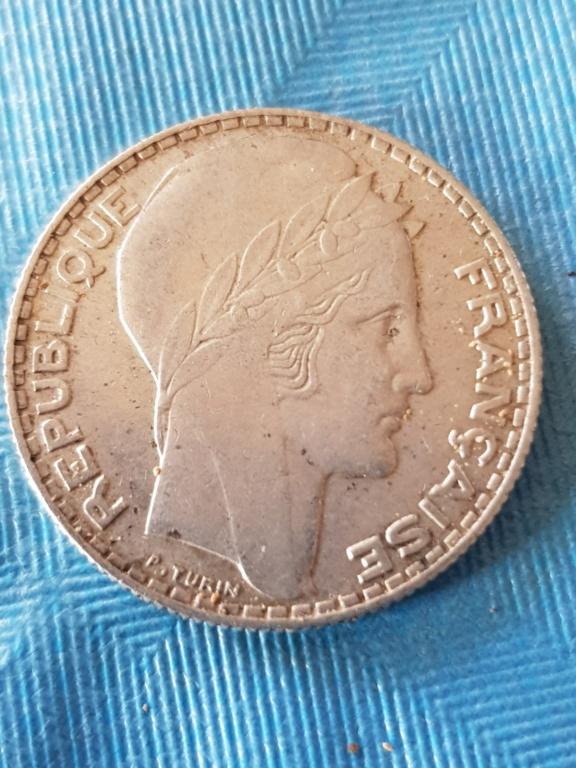 10 Francos 1934. República Francesa. 20191176