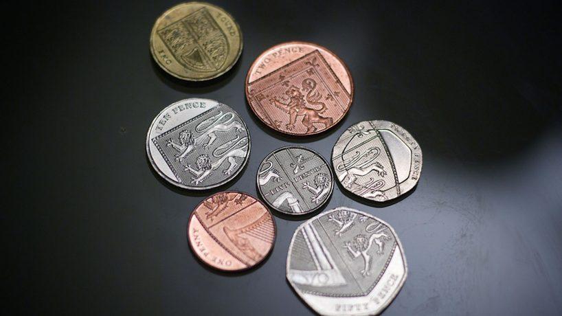 One pound 1983. Reino unido. Moneda10